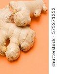 ginger root | Shutterstock . vector #575371252