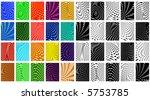 set of editable vector criss... | Shutterstock .eps vector #5753785