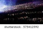 crowd at concert | Shutterstock . vector #575412592
