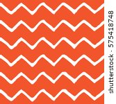 seamless zigzag pattern. flame... | Shutterstock .eps vector #575418748