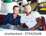 odessa  ukraine june 27  2015 ... | Shutterstock . vector #575425648