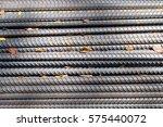 steel bar close up | Shutterstock . vector #575440072