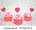 Colorful Love Cupcake For...
