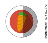 carrot vegetable icon mage ...   Shutterstock .eps vector #575467672