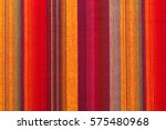 Colorful Striped Fabric Textur...