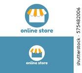 online store logo | Shutterstock .eps vector #575482006