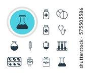 vector illustration of 12... | Shutterstock .eps vector #575505586