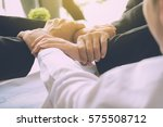 the business confederate hands... | Shutterstock . vector #575508712