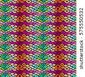 fabric pattern. tribal ornament.... | Shutterstock .eps vector #575550532