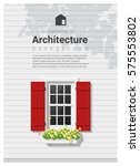 elements of architecture  ...   Shutterstock .eps vector #575553802