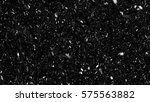 falling down real snowflakes ... | Shutterstock . vector #575563882