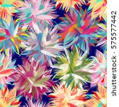 vivid multicolored seamless... | Shutterstock .eps vector #575577442