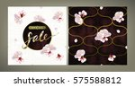 """spring sale"" flayer template... 