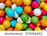bubble gum chewing gum texture. | Shutterstock . vector #575596432