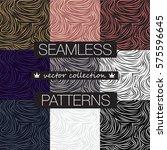 Set Of 9 Seamless Pattern...