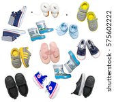 collection of children's... | Shutterstock . vector #575602222