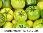 Some Whole Fresh Green Tomato ...