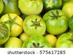 Some Whole Fresh Green Tomato ...