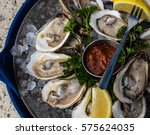 raspberry point oysters on the...