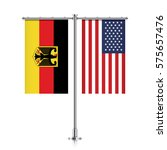 germany and united states... | Shutterstock .eps vector #575657476