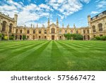 cambridge  united kingdom  ... | Shutterstock . vector #575667472