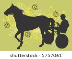 horse race | Shutterstock .eps vector #5757061