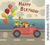 Cute Happy Birthday Greeting...