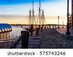 first light catches the... | Shutterstock . vector #575743246
