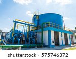 water treatment process and... | Shutterstock . vector #575746372