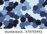 seamless pattern. asymmetric... | Shutterstock .eps vector #575755942