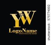 yw logo | Shutterstock .eps vector #575774002