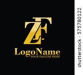 zf logo | Shutterstock .eps vector #575780122