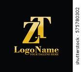 zt logo | Shutterstock .eps vector #575780302