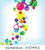 abstract colorful elements on... | Shutterstock .eps vector #57579913