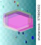 jewel design art | Shutterstock .eps vector #575804332