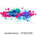abstract grunge background | Shutterstock .eps vector #57581599