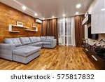 living room with a beautiful... | Shutterstock . vector #575817832