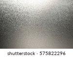 silver glitter background foil... | Shutterstock . vector #575822296
