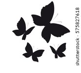 Beautiful Butterflies  On A...