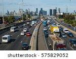 Traffic Backing Up During Peak...