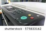 multifunction printer or copier ... | Shutterstock . vector #575833162
