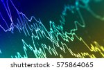 eeg abnormal in human brain... | Shutterstock . vector #575864065
