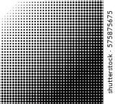 dot halftone vector abstract... | Shutterstock .eps vector #575875675