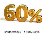 gold sale 60   gold percent off ... | Shutterstock . vector #575878846