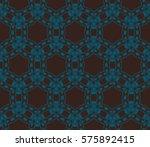 modern geometric seamless... | Shutterstock .eps vector #575892415
