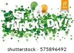 white paper banner for st... | Shutterstock .eps vector #575896492