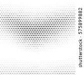 grunge halftone dots. vector... | Shutterstock .eps vector #575899882