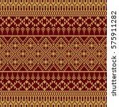 asian traditional art design... | Shutterstock .eps vector #575911282