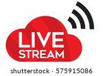 Live Stream Icon. Vector Logo ...