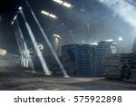 Warehouse With Shafts Of Light...